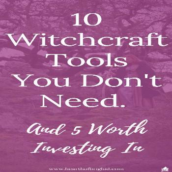 Every Witch loves a good list right?! Well here's one for you - 10 things a beginner witch really d