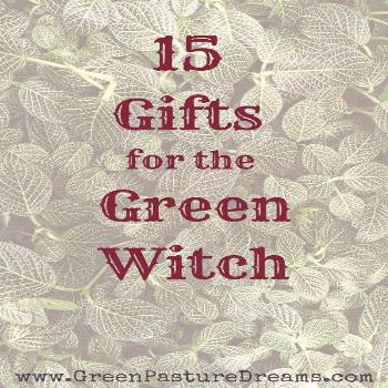 Green Witch Gifts Wondering what to get for the green witch in your life? here's a list of books an