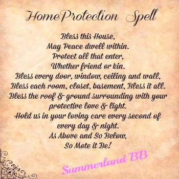 Home Blessing Spell Digital Download Book of Shadows Pages   Etsy