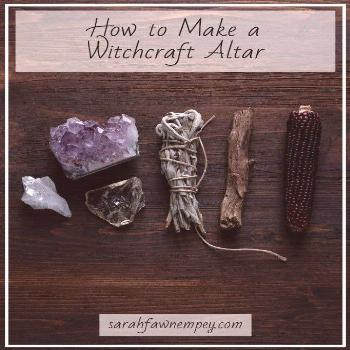 How to make a witchcraft altar