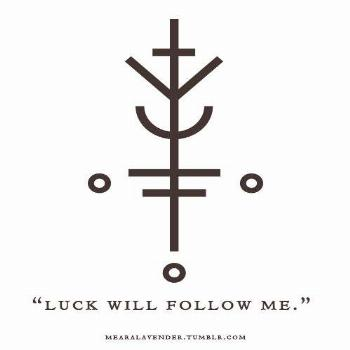 Image result for wiccan symbol for luck