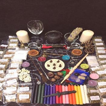 Massiive Witches Starter Kit ~ Altar and Ritual Items Our new revised Altar Kit…