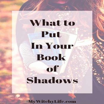New Witch? No Problem.  Here are ideas of what to put in your Book of Shadows, no matter if you are