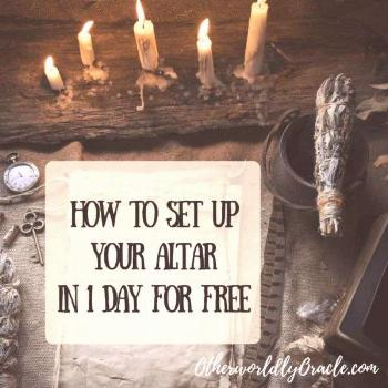 Paganism for Beginners: How to Set Up Your Pagan Altar in 1 Day for FREE