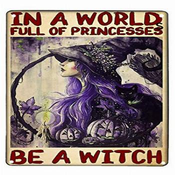 Pozino Witch Room Decor Aesthetic Witch Witchcraft Sign Girl