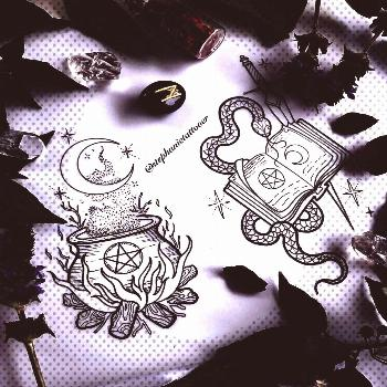 tattoos and more on our website.WitchyWitchyYou can find Witchcraft tattoos and more on our website