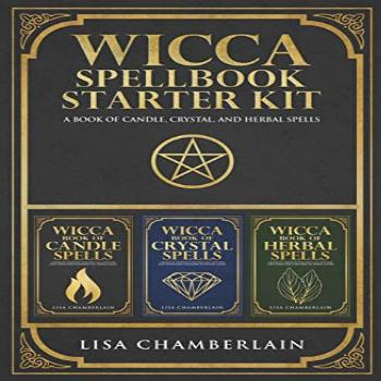 Wicca Spellbook Starter Kit: A Book of Candle, Crystal, and