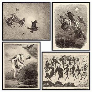 Wicca Witches Witch Decor - Warlock Wiccan Witchcraft