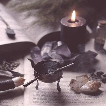 Witch, witch aesthetic witchcraft, magic, dark