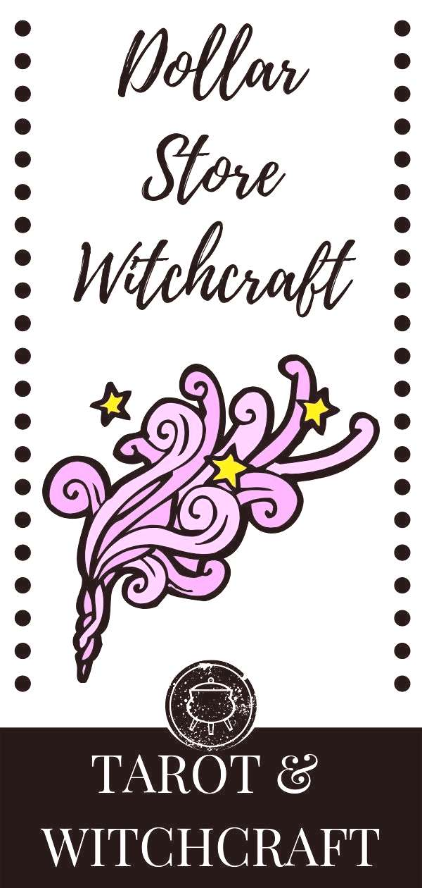 Dollar Store Witchcraft for broke witches. The dollar store has inexpensive witchcraft supplies you