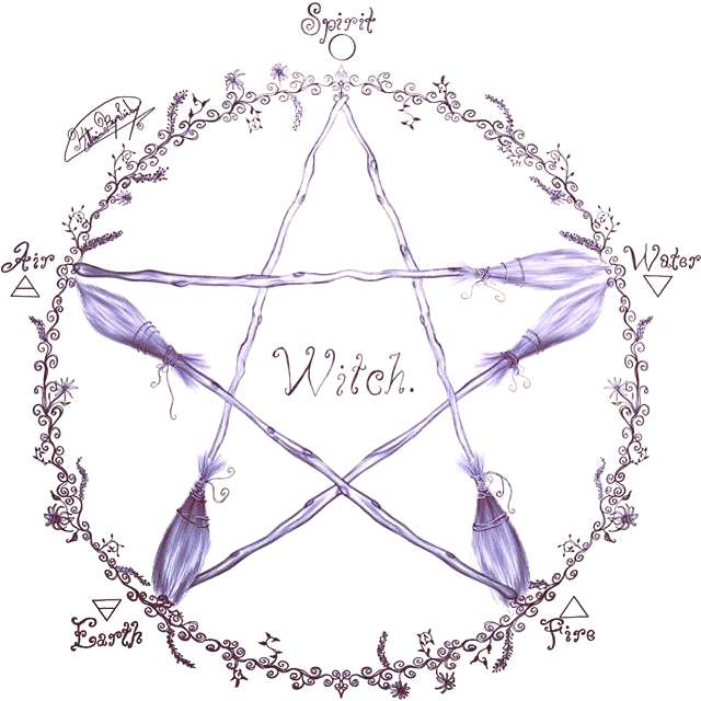 I absolutely adore this pentacle drawing by blackheartcollection All of her drawings are delightful