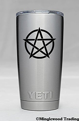 Minglewood Trading 2X Endless Pentacle 2.5quot Vinyl Decal