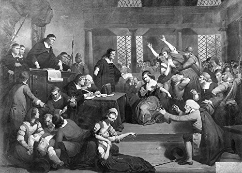 Salem Witch Trials 1692 NThe Trial Of George Jacobs At Salem