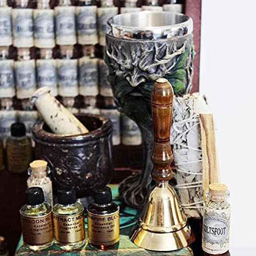 UnaLunaMoona Huge Witchcraft Kit | 116 Wiccan Supplies and