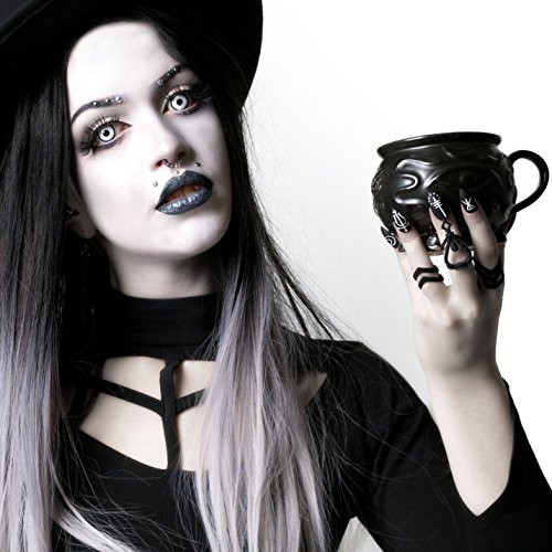Witch Cauldron Coffee Mug in Gift Box by Rogue + Wolf