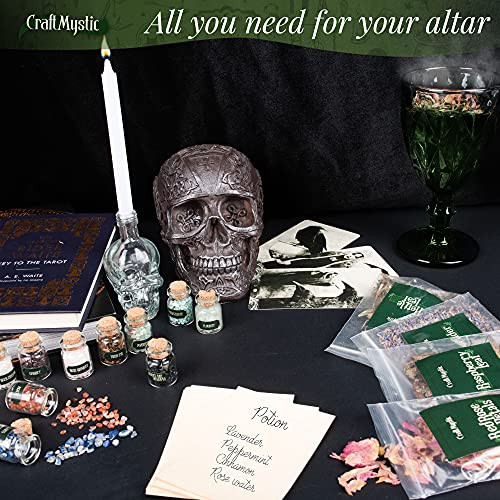 Witchcraft Supplies Box for Wiccan Spells – 36 Pack of