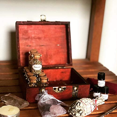 Witchcraft Travel Kit Wicca Supplies and Tools Starter Kit