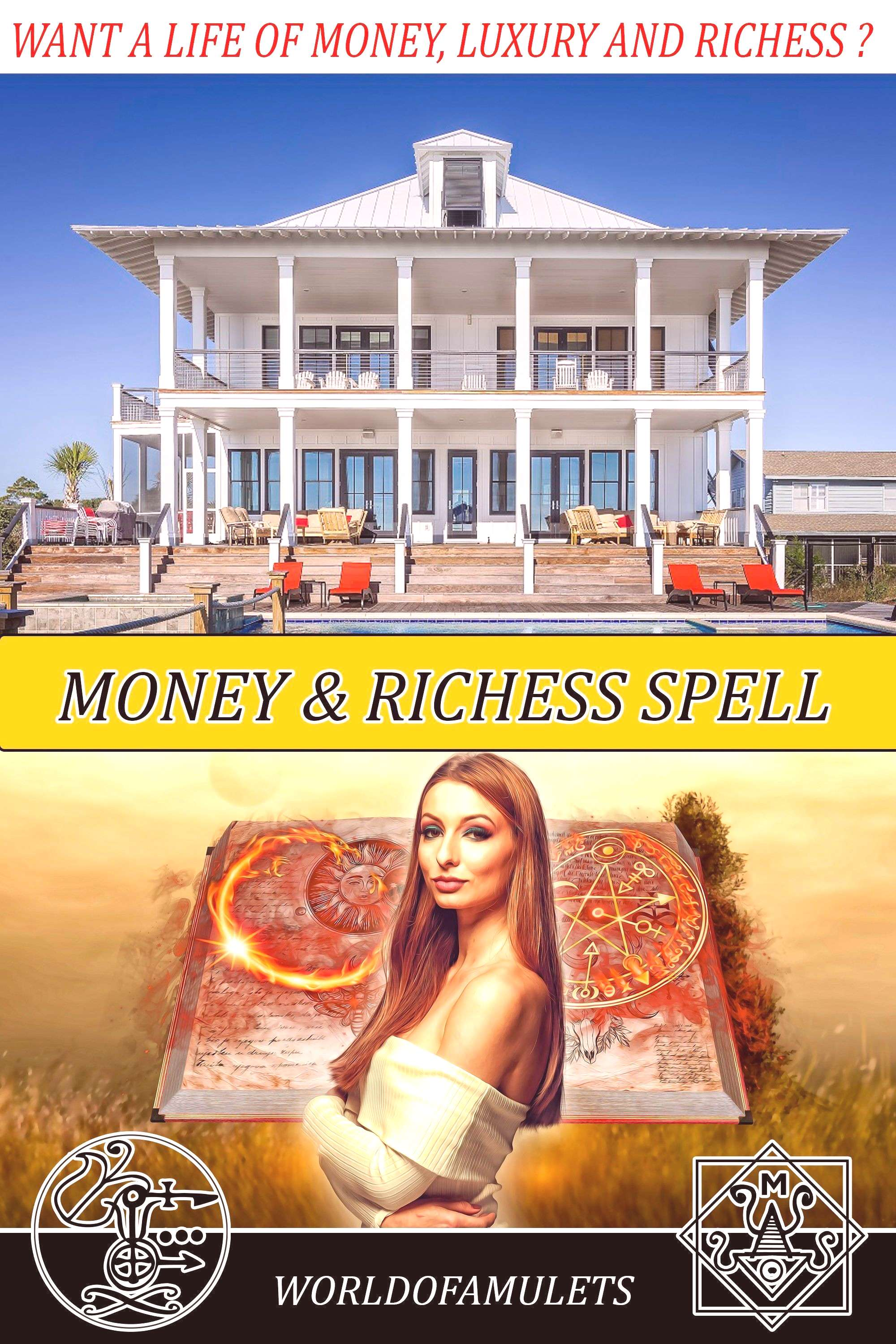 Witchcraft Wealth and Money Spell with Baal School of witchcraft and Wizardry School Beginner Witch