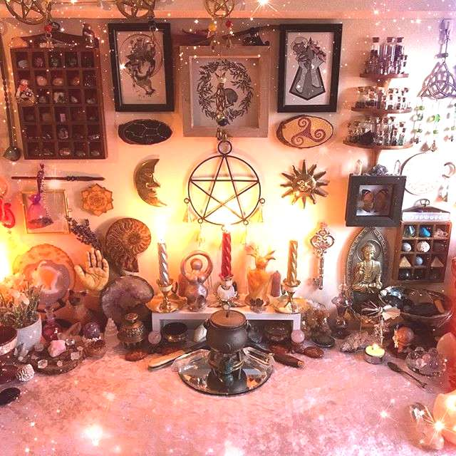 Witchy Altar Space